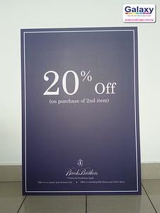 Inkjet Promotion Board