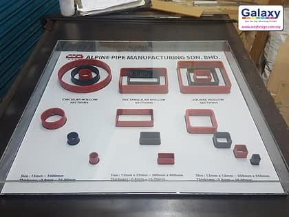Plastic Display for Products Sample
