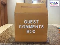 Acrylic Comment Box
