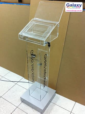Acrylic iPad Display Stand